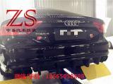 奥迪A7S7 RS7改装碳纤维后唇后扰流排气管大小包围,欧卡改装网,汽车改装