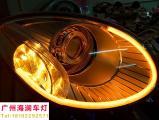 【广州海澜车灯】奇瑞EQ改装升级精刚海拉5透镜,欧卡改装网,汽车改装
