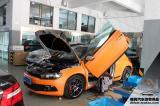 尚酷改橙色贴膜 LSD APR进气 AP刹车,欧卡改装网