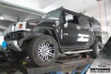 悍马H2 改装ASPEC排气+电动踏板,欧卡改装网