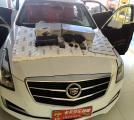 凯迪拉克ATS-L汽车音响改装德国伊顿功放,欧卡改装网,汽车改装