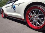 野马改装 将 定制20寸锻造轮毂,欧卡改装网,汽车改装