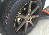 昂克赛拉 安装MHT 18寸铸造轮毂,欧卡改装网,汽车改装