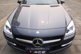 奔驰SLK200选择巨亮魔晶 不抛光秒变新车,欧卡改装网,汽车改装