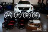 凯迪拉克ATS升级BREMBO GT前六后四刹车+carduke锻造轮毂+KW V3避震,欧卡改装网