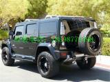 悍马H2加装八件套宽体大小包围排气管电镀件,欧卡改装网,汽车改装