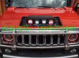 悍马H2改装机盖顶灯悍马H2透镜前照灯,欧卡改装网,汽车改装