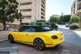 酷!宾利GTC车身改色贴膜WOO新品电光黄魅金,欧卡改装网,汽车改装