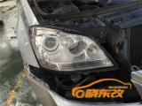 芜湖首例奔驰GL450灯光升级 芜湖晓东改灯,欧卡改装网,汽车改装
