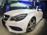 奔驰E260 换装曙光白车身,欧卡改装网