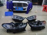 创耀车改蒙迪欧低配升级高配LED大灯总成,欧卡改装网,汽车改装