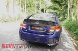 老款雷克萨斯GS300 450 460改装碳纤维尾翼,欧卡改装网,汽车改装