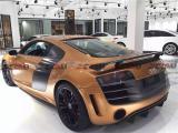 奥迪Audi R8V8 V10改装GT款碳纤维 尾翼,欧卡改装网,汽车改装