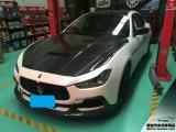 大连改装玛莎拉蒂碳纤维发动机引擎盖,欧卡改装网,汽车改装