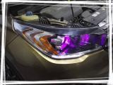 龙威车改 传祺GS4升级GTR双光透镜,欧卡改装网,汽车改装