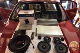 宝马320&意大利PHD MF6.3三分频套装,欧卡改装网,汽车改装