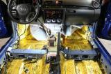 马自达3全车隔音降噪改装《艺匠汽车音响》,欧卡改装网,汽车改装