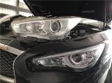 英菲尼迪Q50L车灯升级原厂高配LED大灯,欧卡改装网,汽车改装