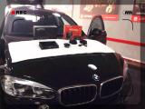 镜头中的音响改装 宝马X6真正的无损改装,欧卡改装网,汽车改装