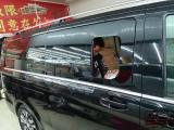 奔驰V260商务车中门推拉小窗户玻璃改装,欧卡改装网,汽车改装