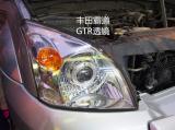 丰田霸道升级GTR透镜白色天使眼,欧卡改装网,汽车改装