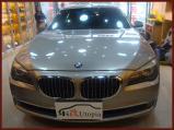重庆宝马740音响改装升级美国MTX超低音,欧卡改装网,汽车改装