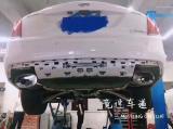 凯迪拉克CT6改AOOAS中尾段双边四出排气,欧卡改装网,汽车改装