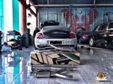 宾利 欧陆GT改装Armytrix中尾段阀门排气,欧卡改装网,汽车改装