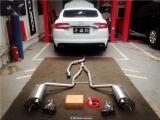 绅士也要嘶吼!捷豹XF改装HSR阀门排气,欧卡改装网,汽车改装