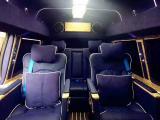 GMC房车商务车耀眼蓝色内饰改装案例,欧卡改装网,汽车改装