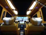 私人定制版斯宾特7+2平顶商务房车内饰鉴赏,欧卡改装网,汽车改装