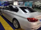 宝马5系全车漆面美容威美特镀晶施工作业,欧卡改装网,汽车改装