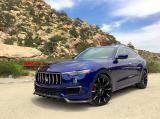 玛莎拉蒂SUV莱万特改装小包围 Levante加装larte-design碳纤尾翼,欧卡改装网,汽车改装