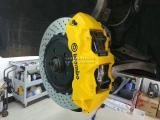 奥迪A6改装BREMBO GT6刹车卡钳,欧卡改装网,汽车改装