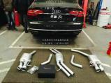 奥迪A8 3.0T改装德国Repose阀门排气,欧卡改装网,汽车改装