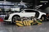 奥迪R8 v10改装ARMYTRIX全钛合金智能阀门排气系统!,欧卡改装网,汽车改装