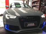 奥迪RS5  RES 全段智能阀门排,欧卡改装网,汽车改装