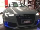奥迪RS5 RES前中尾段智能阀门排气,欧卡改装网,汽车改装