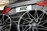 奥迪RS5首装美国ACE D716新款冷凝20寸轮毂,欧卡改装网,汽车改装
