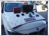 西安上尚音响改装宝马3系无损升级意大利赫兹三分频音响,欧卡改装网,汽车改装