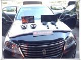 陕西西安上尚音响改装丰田皇冠全车隔音降噪升级3M隔音,欧卡改装网,汽车改装