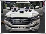 西安上尚音响改装丰田酷路泽四门高性价比山水隔音降噪升级,欧卡改装网,汽车改装
