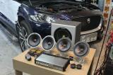 捷豹F-PACE音响改装丹麦绅士宝RX6.2,欧卡改装网,汽车改装