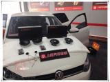 大众POLO无损升级美国卡顿两分频音响,欧卡改装网,汽车改装