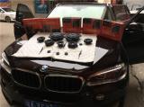 宝马X5无损改装伊顿专用音响,欧卡改装网,汽车改装