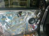 潍坊成功现代IX35汽车音响改装升级 门板隔音降噪,欧卡改装网,汽车改装