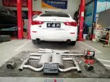 【FX排气】优质的进排气的搭配是动力改装的基础 Q50别致小改  陕西丰雄汽车改装,欧卡改装网,汽车改装