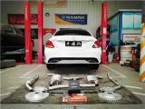 奔驰C级BY优质的进排气搭配---性能轻改示范,欧卡改装网,汽车改装
