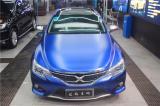 丰田锐志升级车膜深海蓝,欧卡改装网,汽车改装