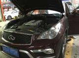 英菲尼迪QX50汽车音响升级,欧卡改装网,汽车改装